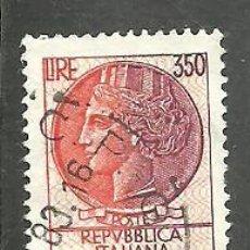 Sellos: ITALIA 1977 - YVERT NRO. 1326 - USADO. Lote 254632290