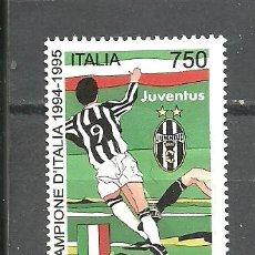 Sellos: ITALIA 1995 - YVERT NRO. 2124 - USADO. Lote 254632425