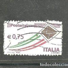 Sellos: ITALIA 2011 - YVERT NRO. 3223 - USADO .- RESTOS DE PAPEL. Lote 254633210