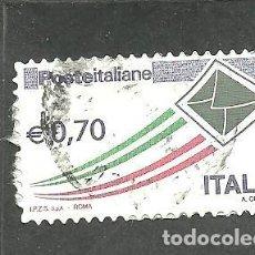 Sellos: ITALIA 2013 - YVERT NRO. 3353 - USADO .- RESTOS DE PAPEL. Lote 254633275