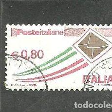 Sellos: ITALIA 2014 - YVERT NRO. 3514 - USADO .- RESTOS DE PAPEL. Lote 254633335