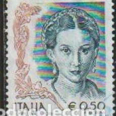 Sellos: ITALIA 2002 SCOTT 2448 SELLO º LAS MUJERES EN EL ARTE MICHEL 2821IA YVERT 2448 ITALY STAMPS TIMBRE. Lote 254715995