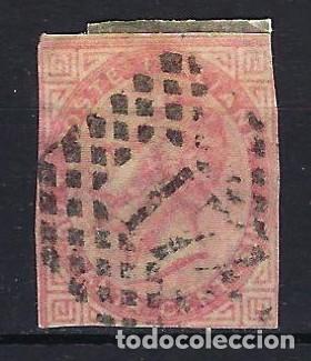 1863 ITALIA MICHEL 20 YVERT 19 REY VICTOR MANUEL II - USADO SIN DENTAR (Sellos - Extranjero - Europa - Italia)