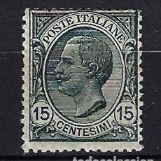 Sellos: 1919 ITALIA MICHEL 130 YVERT 104 REY VICTOR MANUEL III MNH** NUEVO SIN FIJASELLOS. Lote 258131900