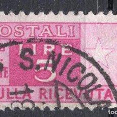 Timbres: ITALIA , 1946 , STAMP ,, MICHEL PK72 RIGHT. Lote 261242610