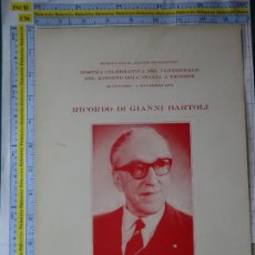 Sellos: DOCUMENTO FILATÉLICO DE ITALIA. 1974 SELLO TRIESTE MUESTRA FILATÉLICA. ALCIDE DE GASPERI. Lote 262122490