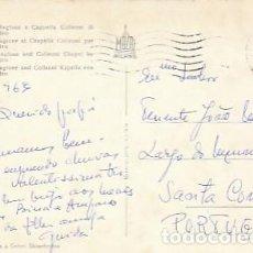 Sellos: ITALIA & BERGAMO, PALACIO DELLA RAGIONE Y CAPILLA COLLEONI, SANTA COMBA DÃO PORTUGAL 1963 (43. Lote 262862550