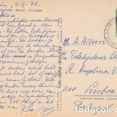 Sellos: ITALIA & CIRCULADO, RUINA OBERMONTANI, MORTER VINSCHGAU, GOLDRAINERHOF GOLDRAIN LISBOA 1985 (26). Lote 262903840