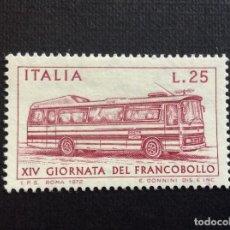 Sellos: ITALIA Nº YVERT 1117*** AÑO 1972. DIA DEL SELLO. AUTOCAR POSTAL. Lote 266168873