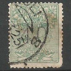 Sellos: ITALIA - 1924 - SEGNATASSE VAGLIA - TASA - USADO. Lote 266591158