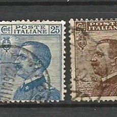 Sellos: ITALIA - 1906 - 4 VALORES - USADOS. Lote 266770514
