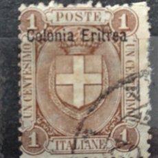 Sellos: ITALIA ERITREA. Lote 268748624