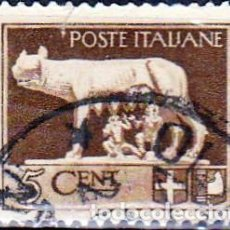 Sellos: 1929 - ITALIA - LOBA ROMULO Y REMO - YVERT 224. Lote 269720763