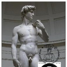 Sellos: ITALIA 2014 - DAVID OF MIGUEL ANGEL CARTE MAXIMUM. Lote 270027763