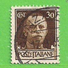 Sellos: ITALIA - MICHEL 305X - YVERT 230 - REY VICTOR EMMANUEL III. (1929).. Lote 270540153