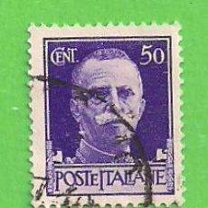 Sellos: ITALIA - MICHEL 307X - YVERT 232 - REY VICTOR EMMANUEL III. (1929).. Lote 270540683