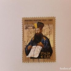 Sellos: AÑO 2014 ITALIA SELLO USADO. Lote 270752088