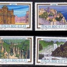 Sellos: ITALIA 1999 - TURISMO - YVERT Nº 2360/2363**. Lote 271032248