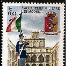 Sellos: ITALIA 1999 - ACADEMIA MILITAR DE MODENA - YVERT Nº 2366**. Lote 271033348