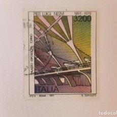 Selos: AÑO 1991 ITALIA SELLO USADO. Lote 274543393