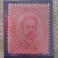 Sellos: ITALIA,1879-82 Y.NO.35 NUEVO/**/MNH. Lote 276317098