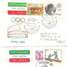 Sellos: CORREO AEREO: ITALIA 1996. Lote 277132013