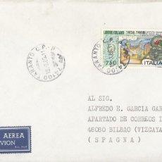 Sellos: CORREO AEREO: ITALIA 1989. Lote 277219663