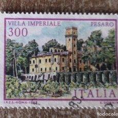 Sellos: SELLO POSTAL ITALIA 1983 VILLAS DE ITALIA. Lote 277538023