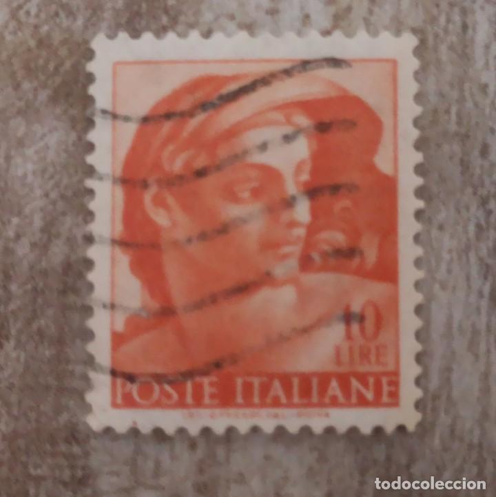 1961 - ITALIA - CAPILLA SIXTINA MIGUEL ANGEL (Sellos - Extranjero - Europa - Italia)