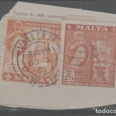 Sellos: LOTE F-SELLOS MALTA. Lote 279459668