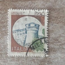 Sellos: SELLO USADOS POSTAL ITALIA CASTILLOS. Lote 280603168