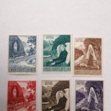 Sellos: SELLOS VATICANO,1958,SERIE COMPLETA 6 UNID. NUEVOS **,. Lote 286925263