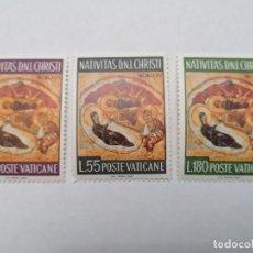 Sellos: SELLOS VATICANO,1967,SERIE COMPLETA 3 UNID. NUEVOS **,. Lote 286925818