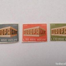Sellos: SELLOS VATICANO,1969,SERIE COMPLETA 3 UNID. NUEVOS **,. Lote 286926088