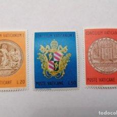 Sellos: SELLOS VATICANO,1970,SERIE COMPLETA 3 UNID. NUEVOS **,. Lote 286926183