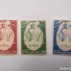 Sellos: SELLOS VATICANO,1969,SERIE COMPLETA 3 UNID. NUEVOS **,. Lote 286926388