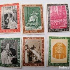 Sellos: SELLOS VATICANO,1966,SERIE COMPLETA 6 UNID. NUEVOS **,. Lote 286926873