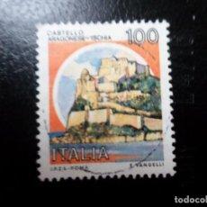 Sellos: ITALIA, 1980, CASTILLOS, YVERT 1440. Lote 287461373