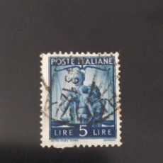 Sellos: ## ITALIA USADO 1946 5L##. Lote 287662403