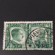 Sellos: ## ITALIA USADO 1941 25C##. Lote 287663528