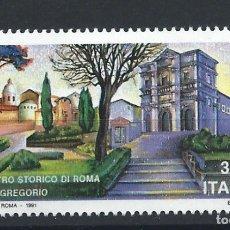 """Sellos: ITALIE N°1911** (MNH) 1991 - ÉGLISE """"SAINT-GRÉGOIRE"""". Lote 287827888"""