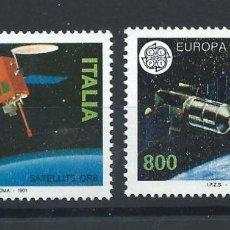 "Sellos: ITALIE N°1912/13** (MNH) 1991 - EUROPA ""L'EUROPE ET L'ESPACE"". Lote 287828583"