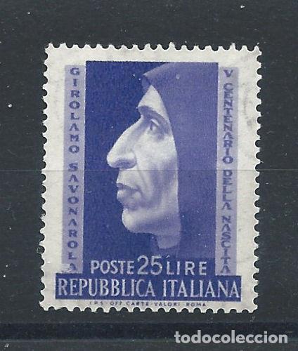 "ITALIE N°634** (MNH) 1952 - MOINE DOMINICAIN ""SAVONAROLE"" (Sellos - Extranjero - Europa - Italia)"