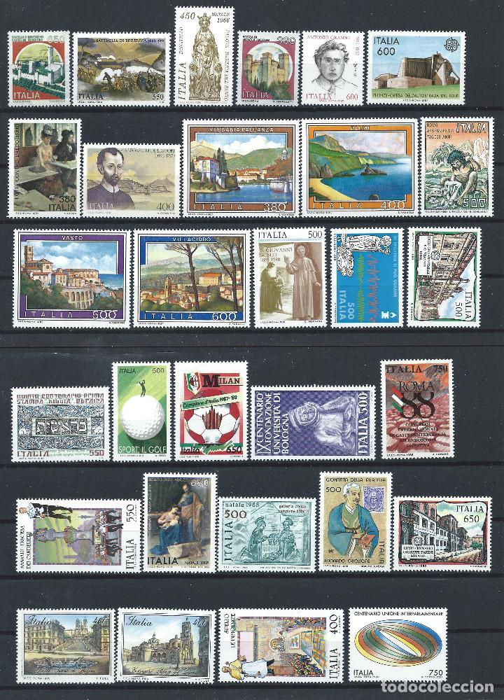ITALIE LOT 70 TP NEUF ** (MNH) ENTRE 1986 ET 1991 (LOT 4) (Sellos - Extranjero - Europa - Italia)