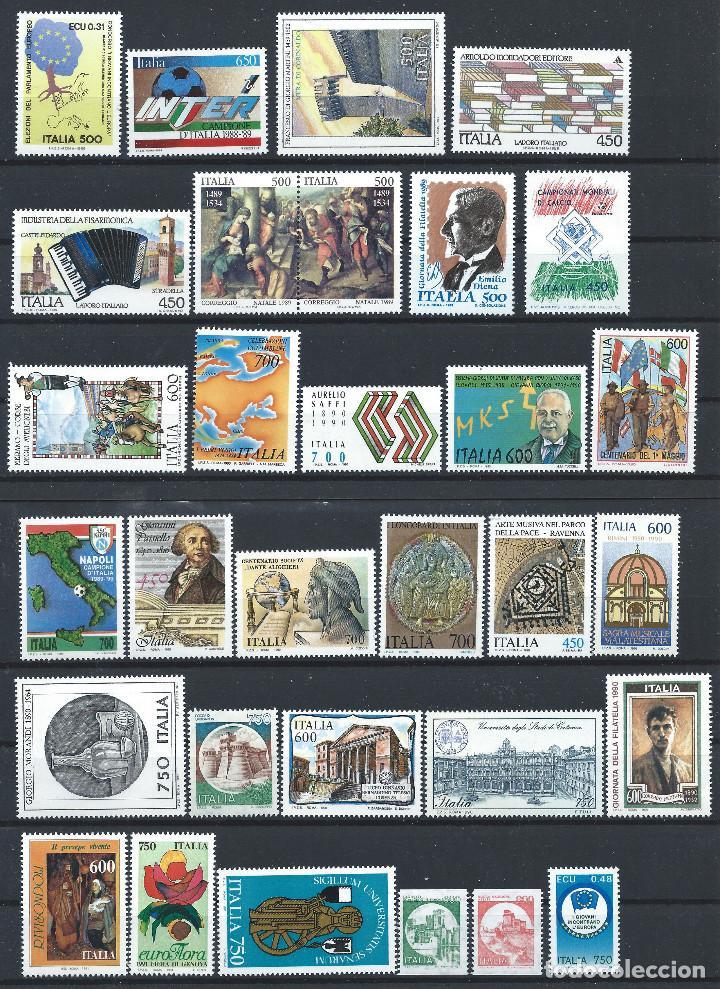 Sellos: Italie Lot 70 Tp Neuf ** (MNH) Entre 1986 et 1991 (Lot 4) - Foto 2 - 287837293