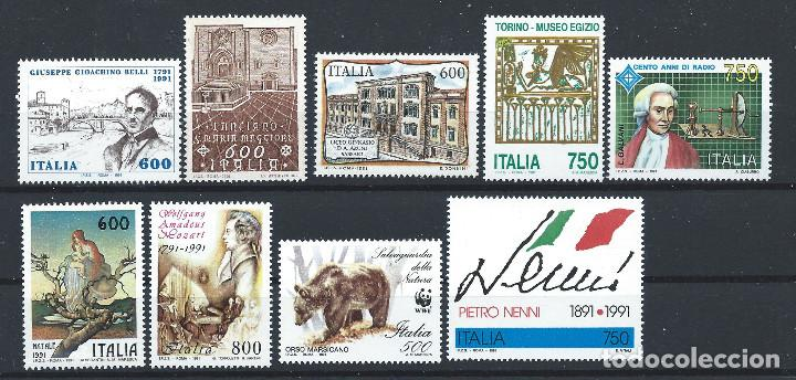 Sellos: Italie Lot 70 Tp Neuf ** (MNH) Entre 1986 et 1991 (Lot 4) - Foto 3 - 287837293