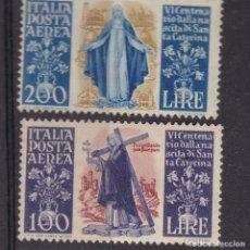Sellos: FC-268 - ITALIA AÉREOS YT 129/ 30 ** SIN FIJASELLOS. Lote 287971153