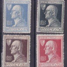 Sellos: FC-268 - ITALIA YT 196/ 99 **/*. Lote 287971348