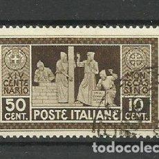 Sellos: ITALIA - USADO - 1929. Lote 288073008