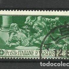 Sellos: ITALIA - USADO - 1930. Lote 288073513